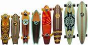 KRYPTONICS Skateboard LONGBOARD